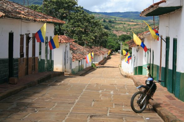 Barichara, Kolumbien