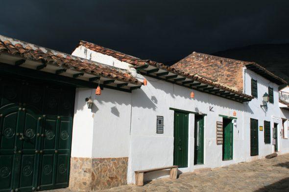 Gewitter in Villa de Leyva