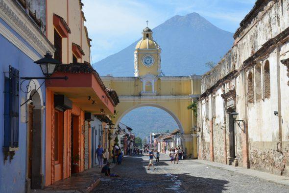 Bogen von Santa Catalina in Antigua, Guatemala