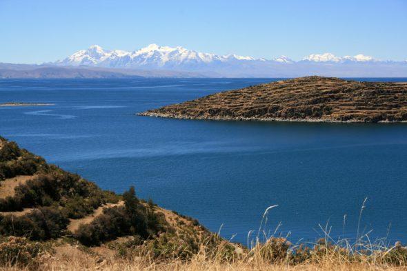 Berge am Titicaca-See