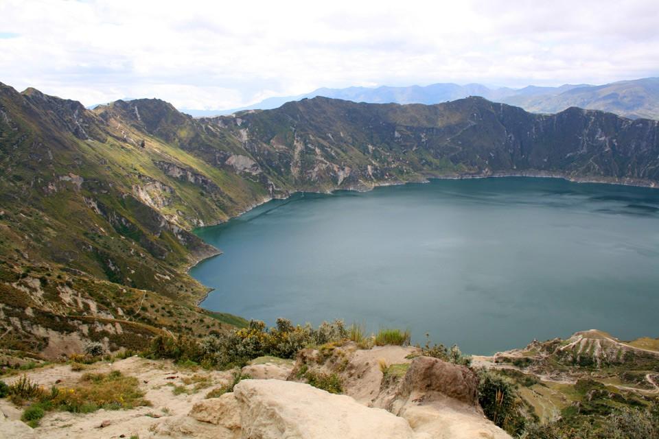 Die Laguna Quilatoa in Ecuador – Ein Kratersee auf 3.800 Metern Höhe