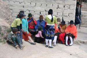 Menschen der Quechua