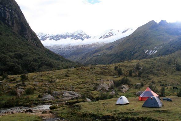 Trekking in den Anden