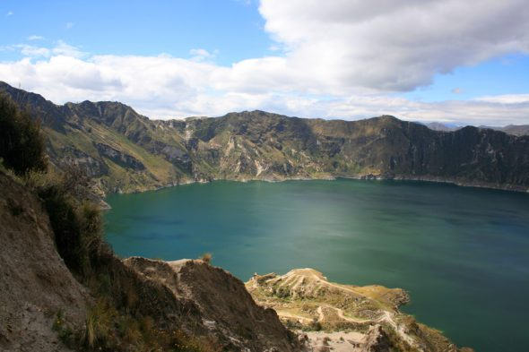 Laguna Quilatoa in Ecuador