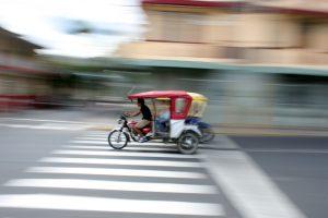 Mototaxi in Iquitos