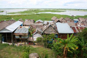 Häuser auf Stelzen in Iquitos