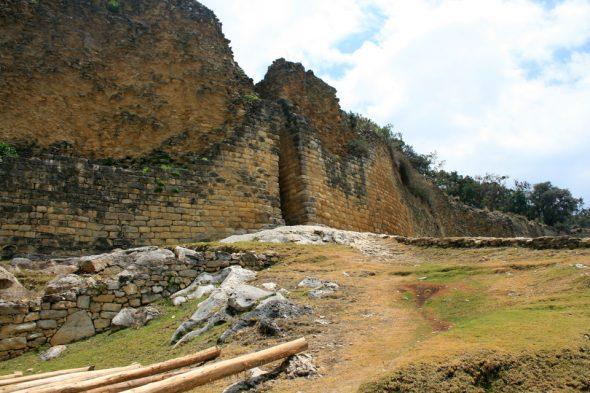 Eingang von Kuélap, Chachapoyas