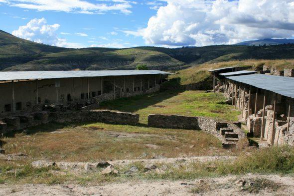Wari-Ruinen bei Ayacucho