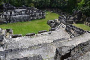 Akropolis, Tikal, Guatemala