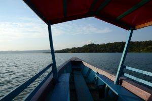 Boot auf dem Petén-Itzá-See