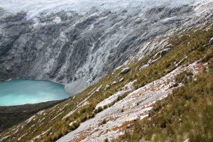Gletscher-Lagune in Peru