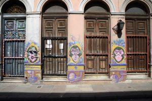 Graffiti in San Telmo, Buenos Aires