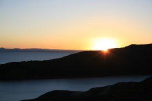 Sonnenuntergang auf der Sonneninsel