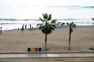 Strand in Barranco, Lima