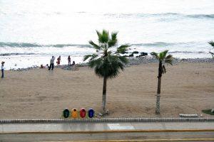 Strand in Barranco, Lima