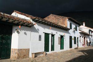 Schlechtes Wetter in Villa de Leyva