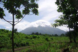 Vulkan Concepcion im Nebel, Ometepe
