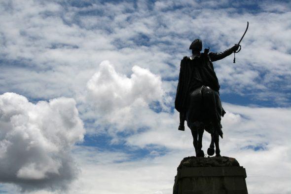 Statue von Antonio José de Sucre