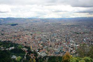 Ausblick auf Bogotá