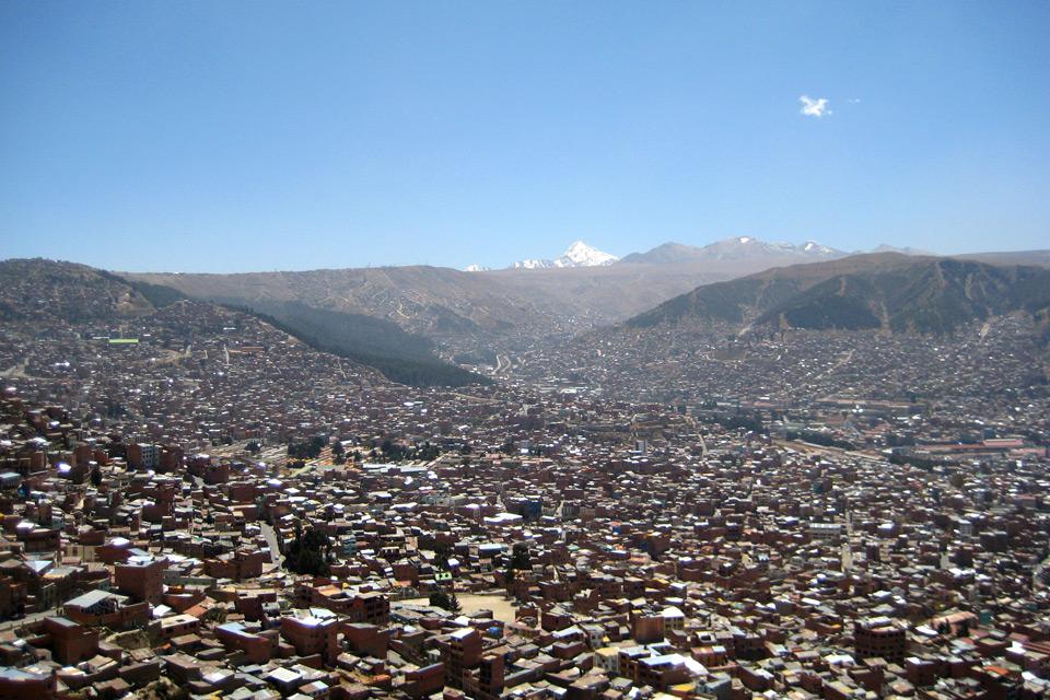 La Paz in Bolivien – nicht nur eine der höchsten Städte der Welt…