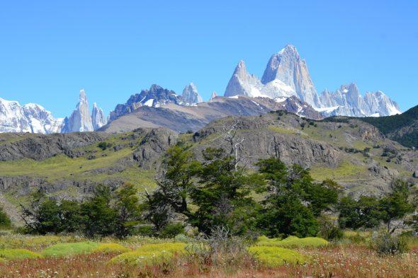 Cerro Torre und Cerro Fitz Roy