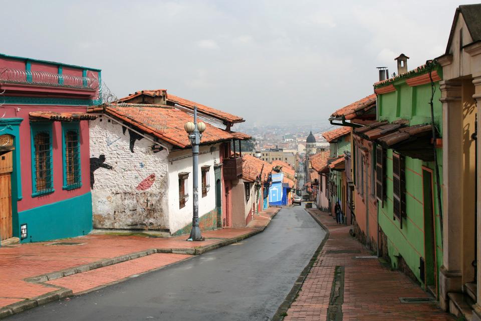 La Candelaria in Bogotá