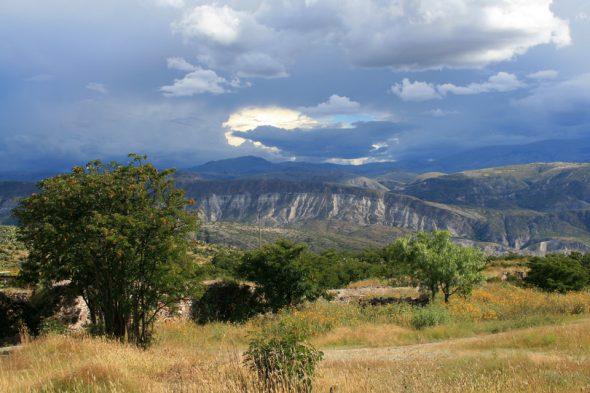 Landschaft bei Ayacucho