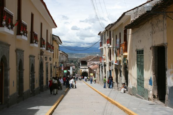 Straße in Ayacucho