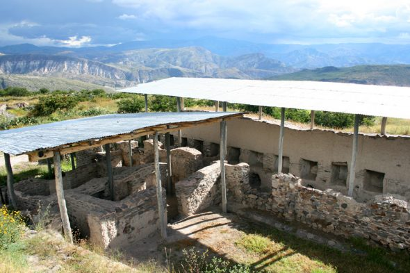 Hauptstadt Huari der Wari
