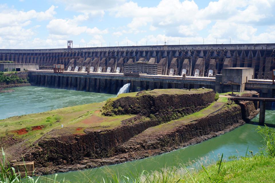 Itaipú-Kraftwerk in Paraguay
