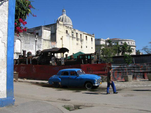 Koloniales Gebäude, Havanna, Kuba