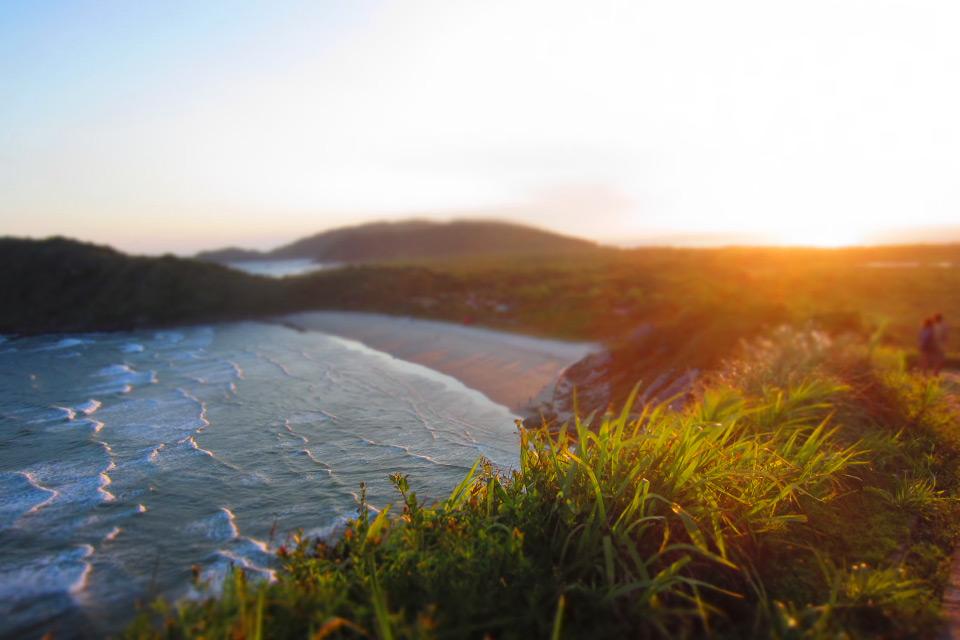 Sonnenuntergang auf der Ilha do Mel
