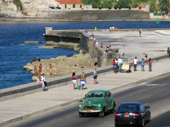 Malecón in La Habana