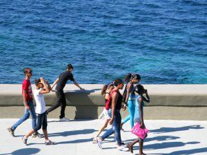 Strandpromenade in Havana, Cuba