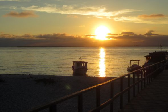 Abendstimmung auf der Ilha do Mel