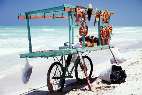 Am Strand von Varadero