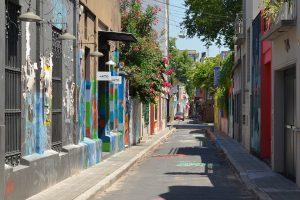 Straße in Palermo, Buenos Aires