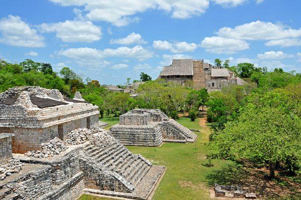 Maya-Stadt Ek Balam