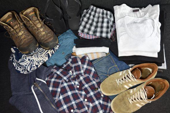Packliste: Kleidung, Schuhe