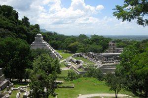 Hauptplatz von Palenque