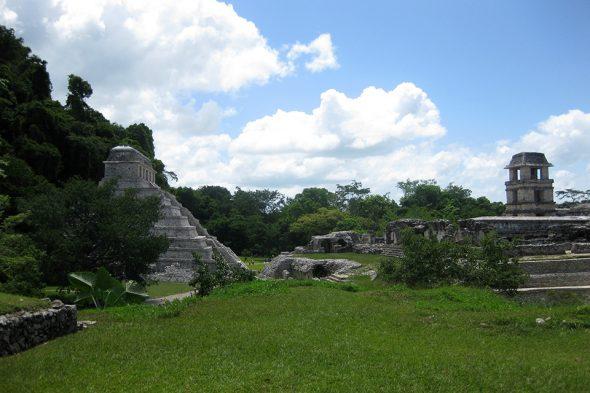 Maya-Ruine Palenque