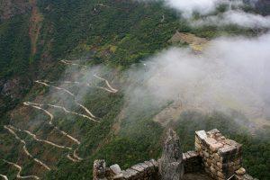 Weg nach Machu Picchu