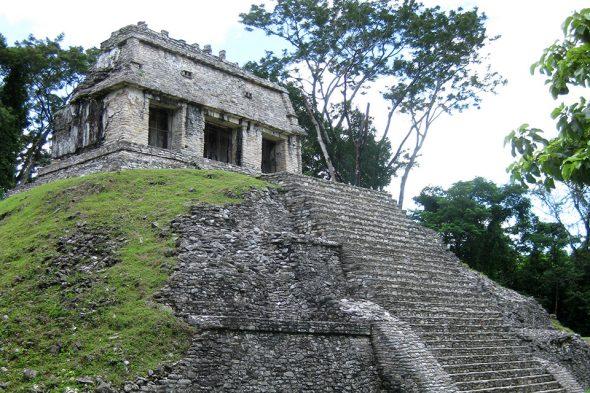 Sonnentempel von Palenque