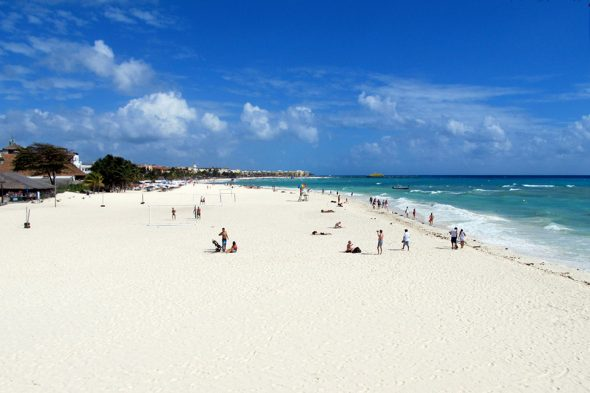 Playa del Carmen – Strand
