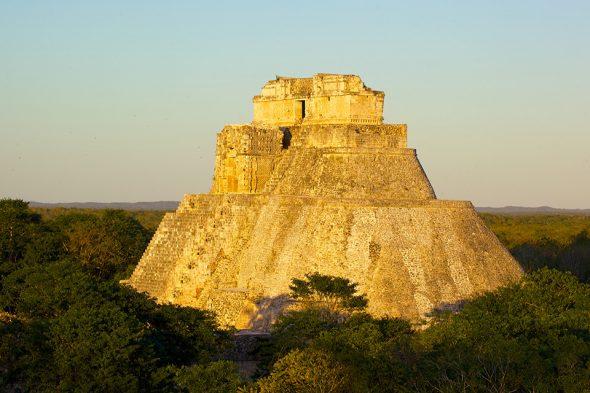 Maya-Pyramide Uxmal