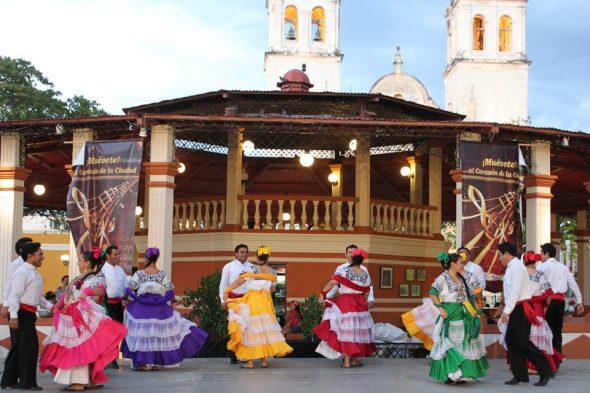 Tanz in Campeche, Mexiko