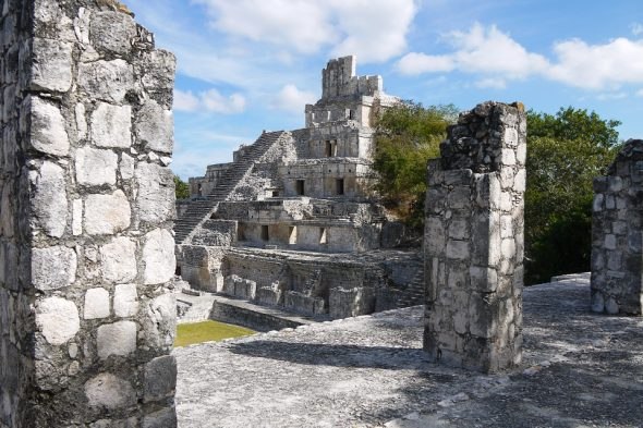 Edzná, Maya-Ruine in Mexiko