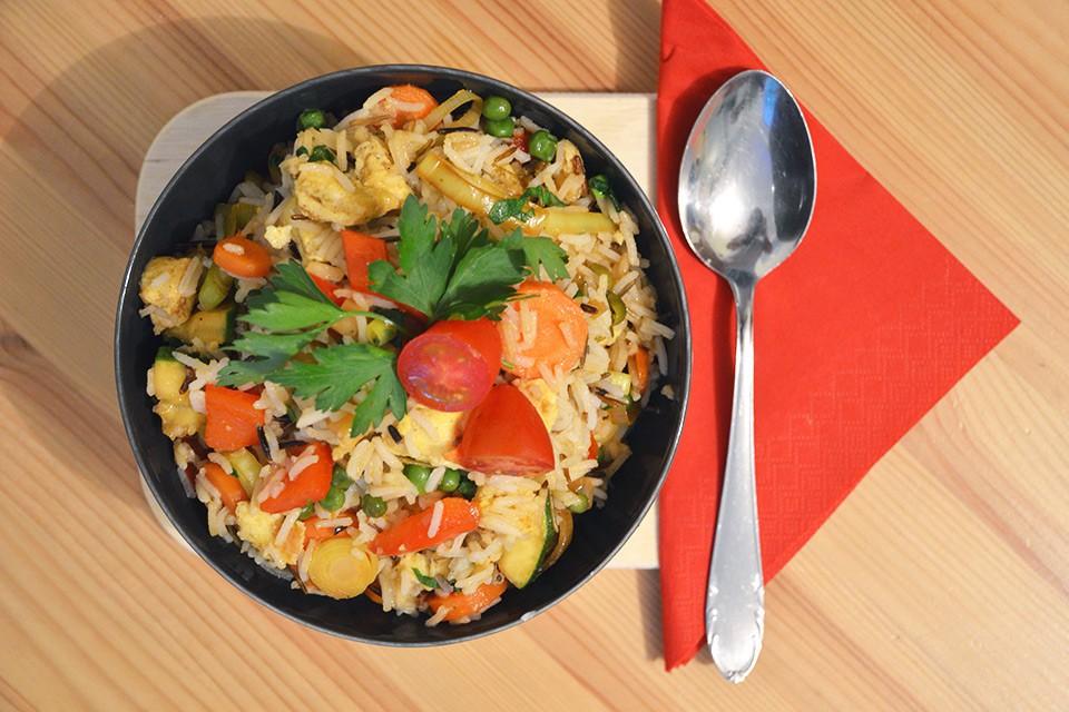 Peruanischer Arroz Chaufa – Rezept und Zubereitung