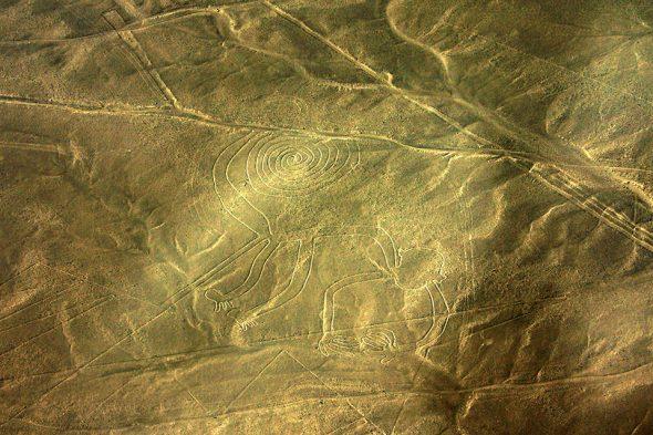 Affe – Nazca-Linien, Peru
