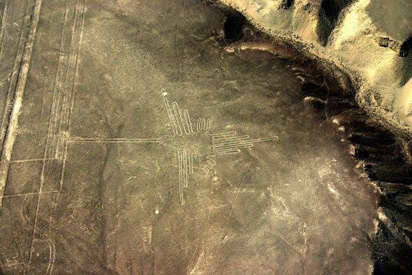 Kolibri – Nazca-Linien, Peru